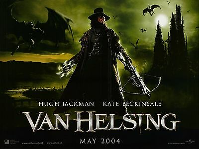 """Van Hesling 16"""" x 12"""" Reproduction Movie Poster Photograph"""
