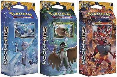 Pokemon TCG Sun and Moon Theme Deck IN STOCK! NEW SEALED Base Deck Pokémon Cards