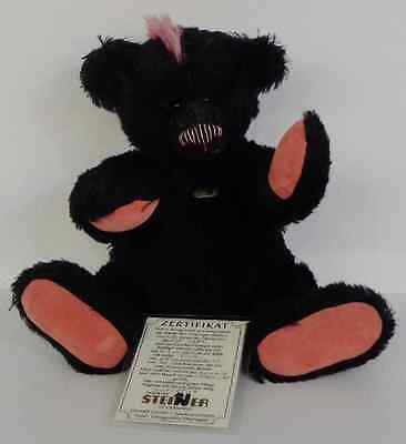 Steiner Mohair Bear 'pink' Limited Edition
