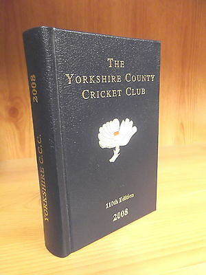 Leather-Bound Yorkshire County Cricket Club Yearbook 2008