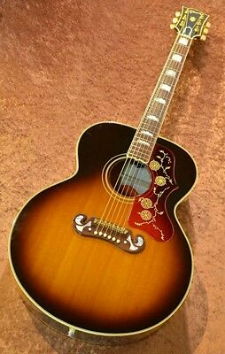 Gibson 1960's J-200 SPECIAL Sunburst w/hard case F/S Guitar from Japan #E1169
