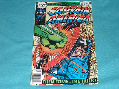 Captain America_230# Then Came _The _Hulk, Great Copy 7.5 Vg