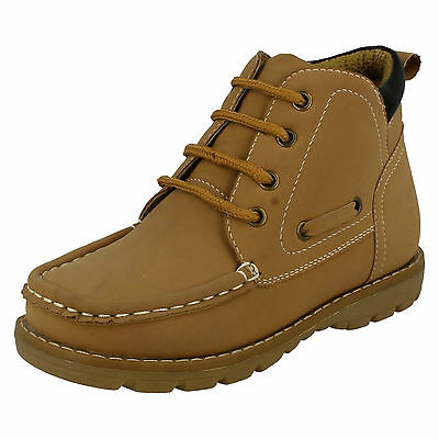 Wholesale Boys Ankle Boots 16 Pairs Sizes 8-3  N2005