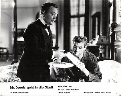 Mr. Deeds Goes to Town German lobby card Capra Gary Cooper Jean Arthur, Bancroft