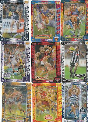 2016 Teamcoach Footy Powers X 18--- (19-36) Herald Sun Full Set