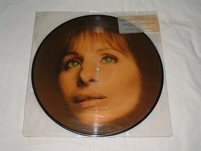 BARBRA STREISAND - USA ONLY Picture Disc ~ The Way He Makes Me Feel - from Yentl