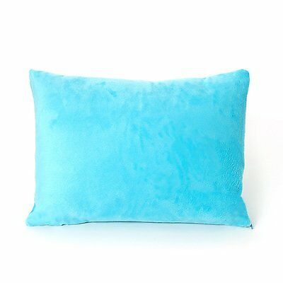 My First Mattress Pillow Premium Memory Foam Toddler Pillow, Blue