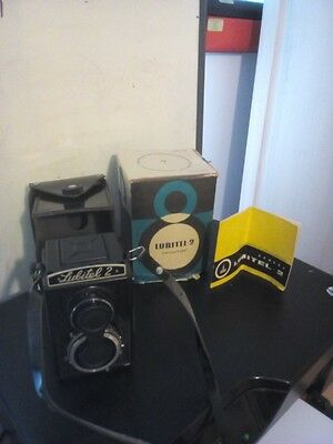 VINTAGE Lubitel camera 2 with box / manual