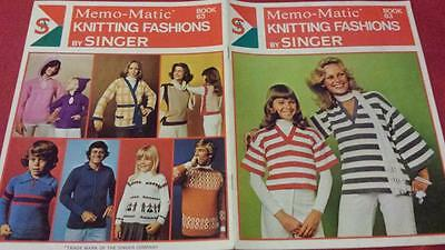 SINGER MEMO-MATIC KNITTING FASHIONS by SINGER BOOK 63