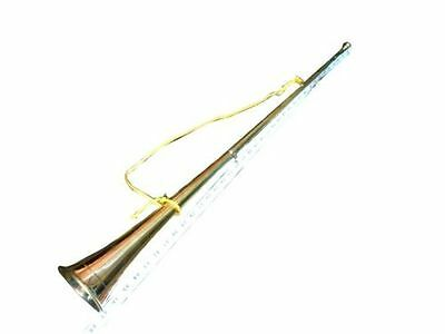 VERY RARE! NEW Bb/A POST:HORN ^CASE +MOUTHPIECE CEREMONIAL BUGLE