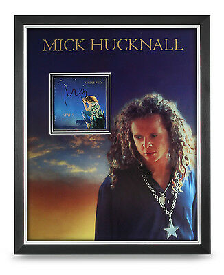 Mick Hucknall Signed Photo Large Framed 20x16 Stars Simply Red Autograph Display