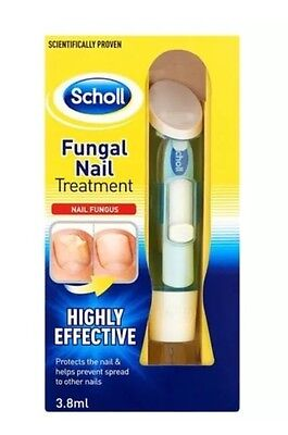 Scholl Fungal Nail Treatment 3.8ml Kill Fungus 99.9% , VERY EFFECTIVE