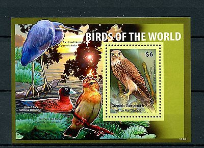 Grenadines of Grenada 2011 MNH Birds of World II 1v S/S Herons Ducks Stamps