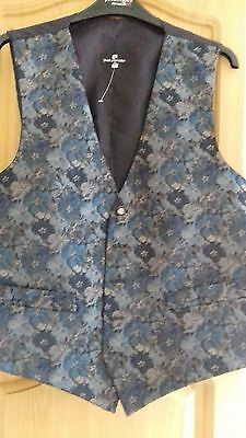 Mens Waistcoat Mix Colours Size Medium