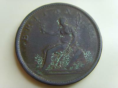 1806 PENNY 1d KING GEORGE III BRITISH COIN GREAT BRITAIN ONE PENCE