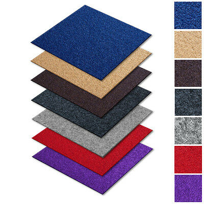 Self Adhesive Carpet Tiles * Retail Office Flooring Heavy Duty Contract Floor