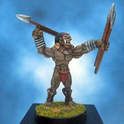 Painted Ral Partha Crucible Orc Javelineer II
