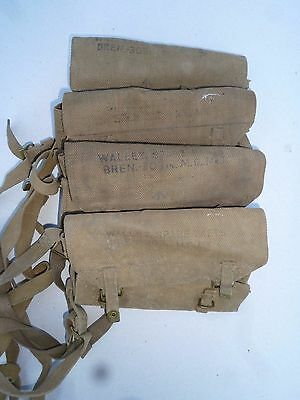 British UK WW2 Bren tools cleaning Wallet Spare Parts  303 Lee enfield Airborn