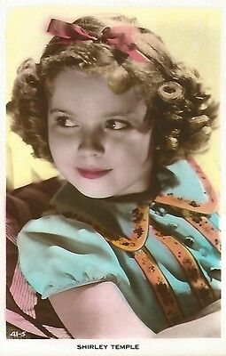 Shirley Temple American Actress Vintage Postcard