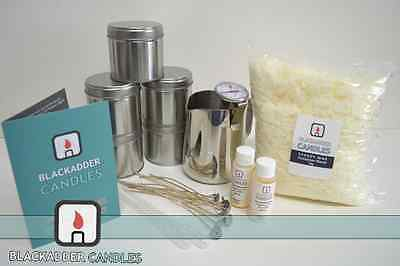 Beginners Large Tin Candle Kit - 100% Soy