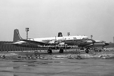 South African Airways Douglas DC-7C ZS-DKD at Heathrow (1962) Photo