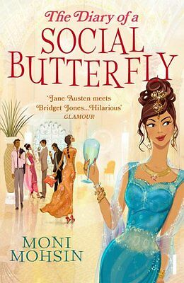 The Diary of a Social Butterfly, Mohsin, Moni, New Book
