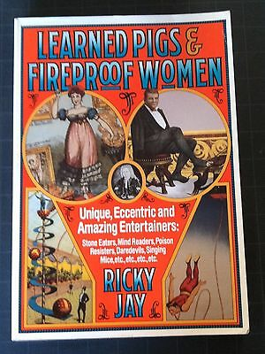 Magic Book - Learned Pigs & Fireproof Women - Ricky Jay