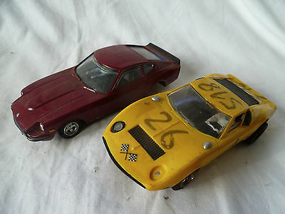 Scalextric Datsun 240Z & Other Slot Racing Car Parts