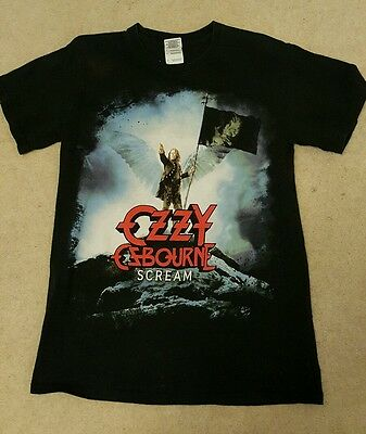 ozzy osbourne scream t shirt