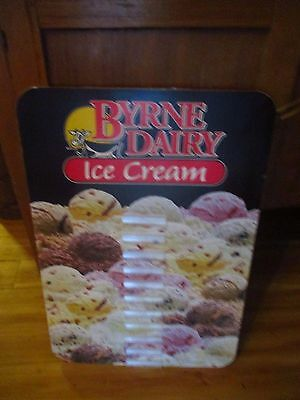 Byrne Dairy Ice Cream Sign,flavors, Colorful, 16 X 23,