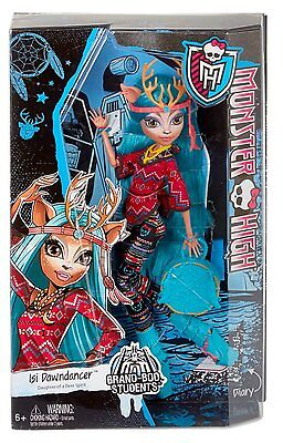 Monster High Isi Dawndancer Doll - Brand New