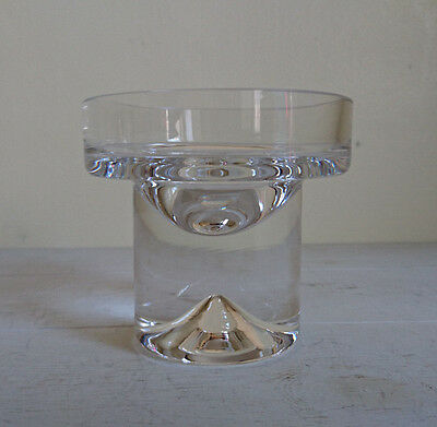 Dartington Crystal Candle Holder - For Round Ball Candle