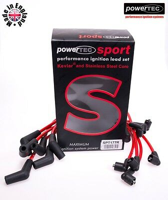 PowerTEC Sport Ignition HT Lead Set Ford Capri Granada Sierra Scorpio 2.3-3.0 v6