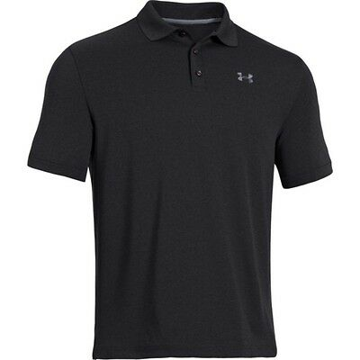 Under Armour Performance Polo 1242755-001 Black Size L New
