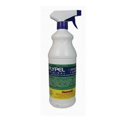 OSMONDS FLYPEL horse pony repellent spray for fly midge insect