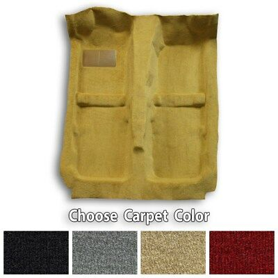 Passenger Area Cutpile Molded Replacement Carpet Kit - Choose Color and Backing