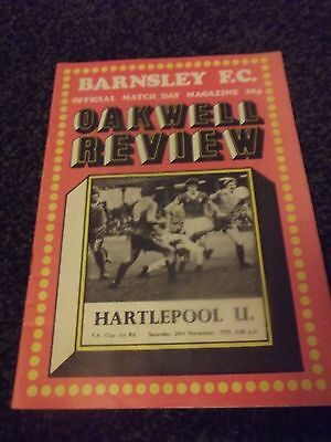 Oakwell Review Programme (Rare) 24/11/79