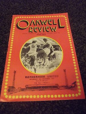 Oakwell Review Programme (Rare) 16/12/1978