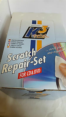 Scratch Repair-Set für CD & DVD