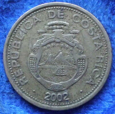 COSTA RICA - 10 colones 2002 KM# 228.2 Monetary Reform (1920) - Edelweiss Coins