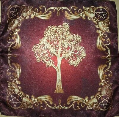 Wiccan Tree of Might nature 40х40 Cloth Wicca Pagan Witch shawl