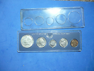 1966 United States  Mint Set Of Coins Includes Kennedy Half In Original Case