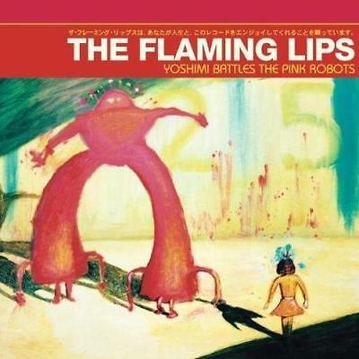 THE FLAMING LIPS – YOSHIMI BATTLES THE PINK ROBOTS Vinyl LP Reissue (NEW/SEALED)