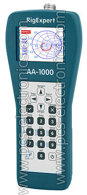 RigExpert AA-1000 antenna analyzer, fast delivery, 3 years warranty, VAT invoice