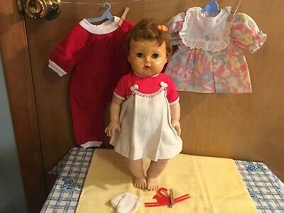 """SALE!!!!! 1959 16"""" Vinyl American Character Tiny Tears Baby Doll"""