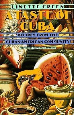 A Taste of Cuba: Recipes From the Cuban-American Community-ExLibrary
