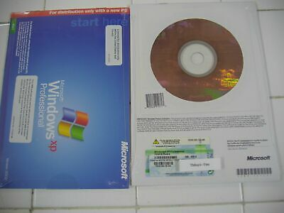 MICROSOFT WINDOWS XP PROFESSIONAL w/SP2 FULL OPERATING SYSTEM MS WIN PRO=SEALED=