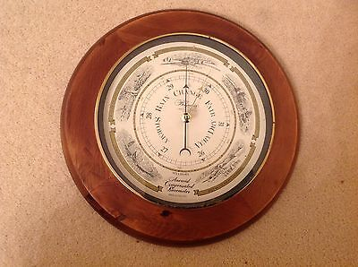 The Belgravia Carriage Clock Of London Aneroid Compensated Barometer