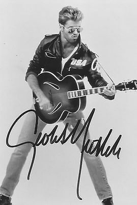 George Michael - Glossy Photo Autograph Print - Signed By The Singer (Pp)