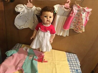 """SALE!!! 1959 16""""  Vinyl American Character Tiny Tears Baby Doll"""